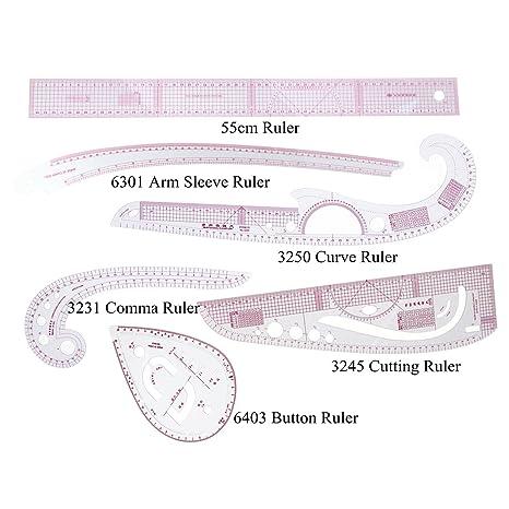 35677c55a77 Amazon.com   RZDEAL 6 Stlye Plastic Fashion Stick Pattern Design ...