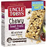 UNCLE TOBYS Muesli Bars Chewy Forest Fruits 6 Pack, 185g