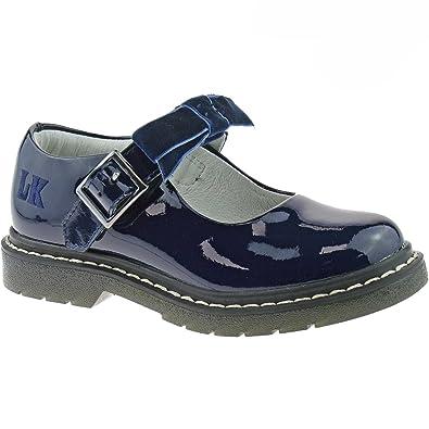 29c3e801aaa Lelli Kelly Frankie Girls Black Patent Mary Jane Shoes  Amazon.co.uk ...