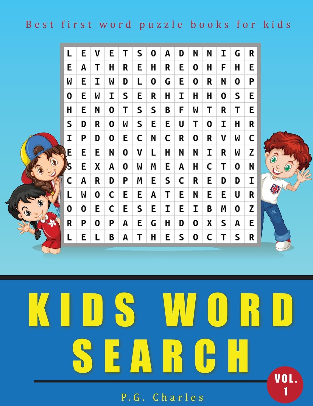 Kids Word Search: Best First Word Puzzle Books For Kids (Fun & Learn Kids Activities Puzzles Book) (Volume 1)