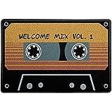 Capacho/Tapete 60x40cm - Welcome Mix Fita K7