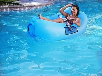 Amazon.com: OG Lazy Tumbona inflable para adultos y niños ...