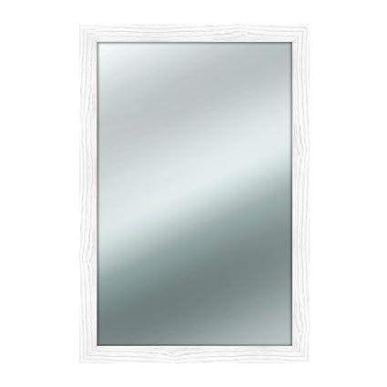 Lupia Specchio da parete MIRROR SHABBY CHIC 45x65 cm colore Bianco ...