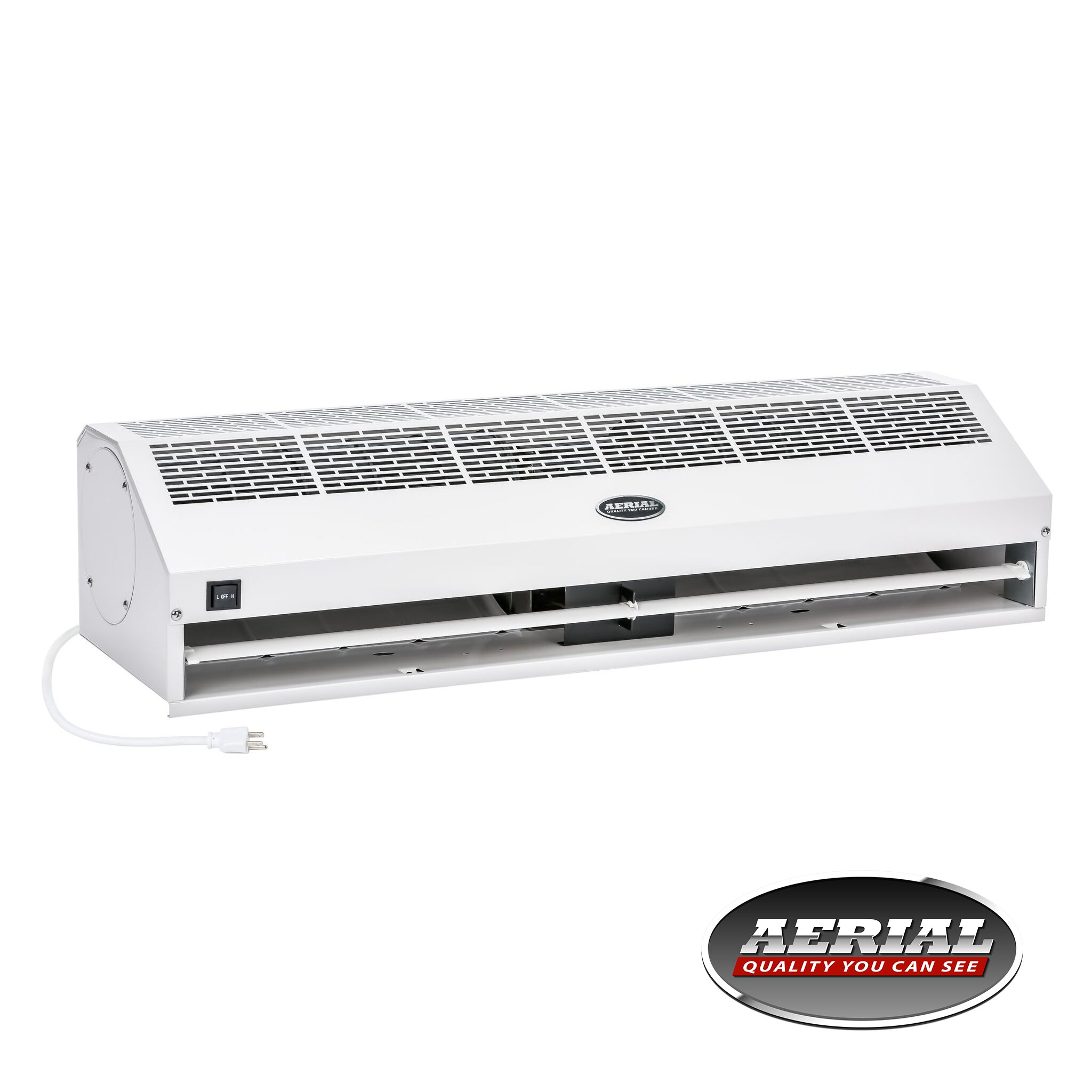 """Apex Aerial Titan-1 48"""" (Inch) 1200 CFM Super Power High Air Volume Commercial Indoor Air Curtain with Free Heavy Duty Door Microswitch (Limit Switch)"""