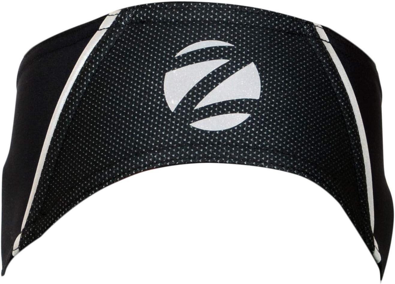 Zimco Unisex Cycling Running Windbreak Headband Ear Warmer HiViz Headband Black