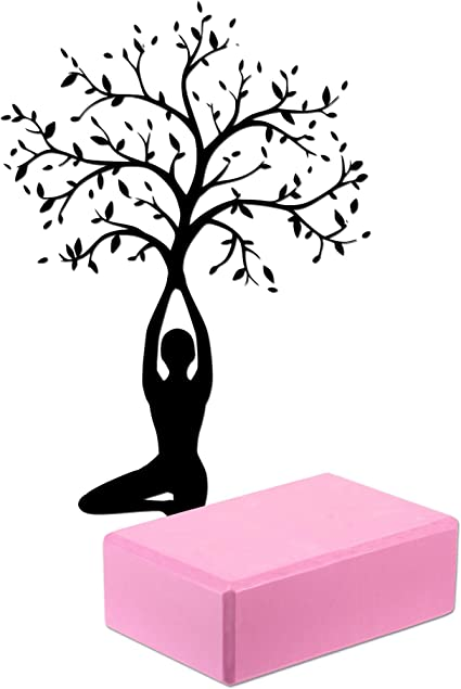 XN8 2er Set Yogablock Eva Schaum Yoga klotz geringem Gewicht Pilate Blöcke DE
