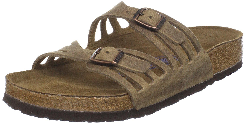 Birkenstock Women's Granada Slide Sandal,Tobacco Oiled Leather , 40 M EU/9-9.5 B(M) US by Birkenstock