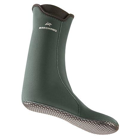 Cormoran calcetines de neopreno para botas de largo, - verde, 45-47
