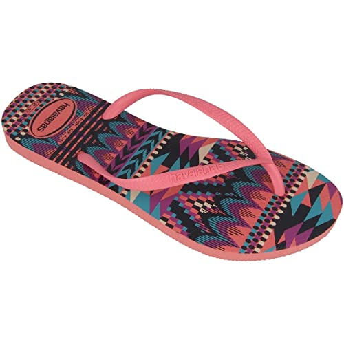 5acb1ff4561939 Image Unavailable. Image not available for. Color  Havaianas Slim Tribal ...