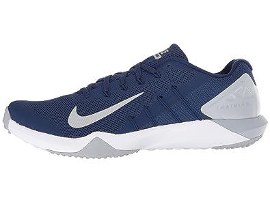 the latest 0ea6e f0df2 NIKE Men s Retaliation Tr 2 Competition Running Shoes, Multicolour (Blue  Void Metallic Silver