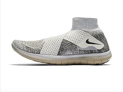 NIKE Mens NikeLab Free RN Motion Flyknit 2017 Running Shoe (10, SailBlack