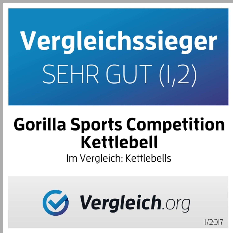 8 kg Pesa Rusa de competici/ón Gorilla Sports