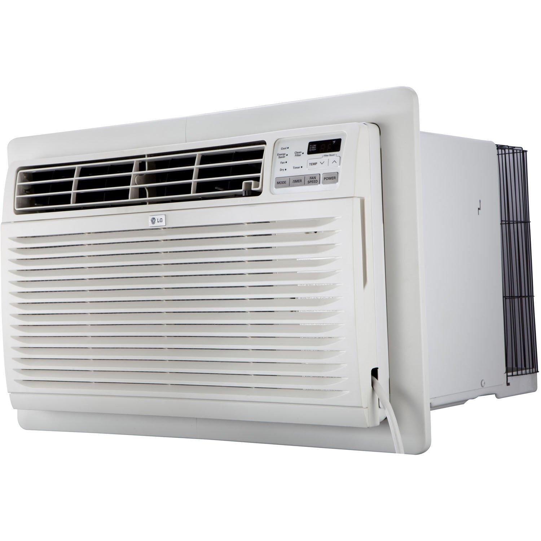 LG LT1236CER 11,500 BTU 230V Through-The-Wall Remote Control Air Conditioner, 11800, White by LG
