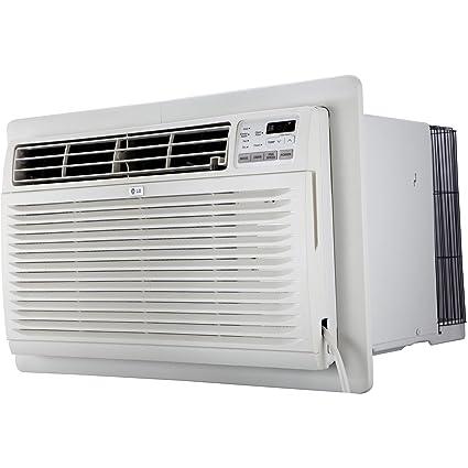 LG 11.500 BTU 115 V through-the-wall aire acondicionado con integrado deshumidificación y