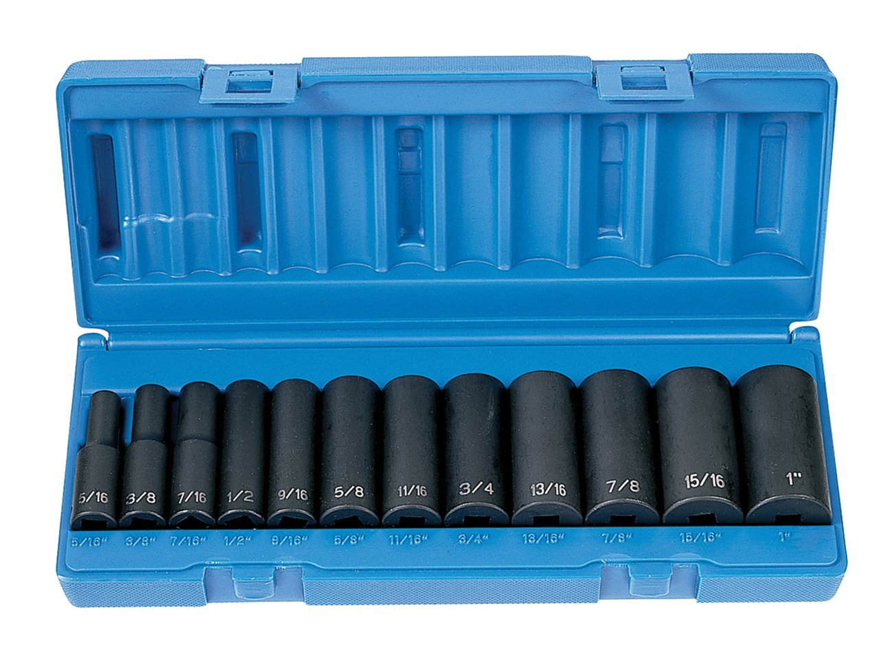 Grey Pneumatic (1213D) 3/8'' Drive 12-Piece Deep Socket Set