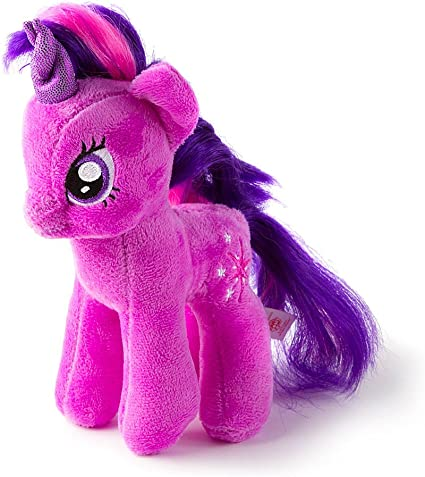 Amazon.com: Claire's Accessories My Little Pony Ty Beanie Baby Twilight  Sparkle: Toys & Games