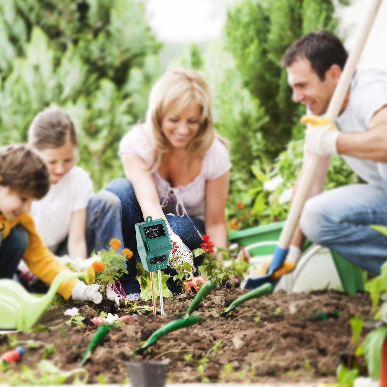 Jellas Soil pH Meter, 3-in-1 Moisture Sensor Meter/Sunlight/pH Soil Test Kits Test Function for Home and Garden, Plants, Farm, Indoor/Outdoor Use by Jellas (Image #7)