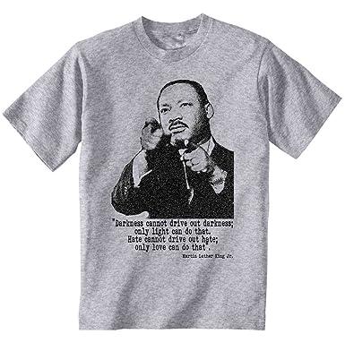 Teesquare1st Men S Martin Luther King 1 Grey T Shirt Amazon Co Uk