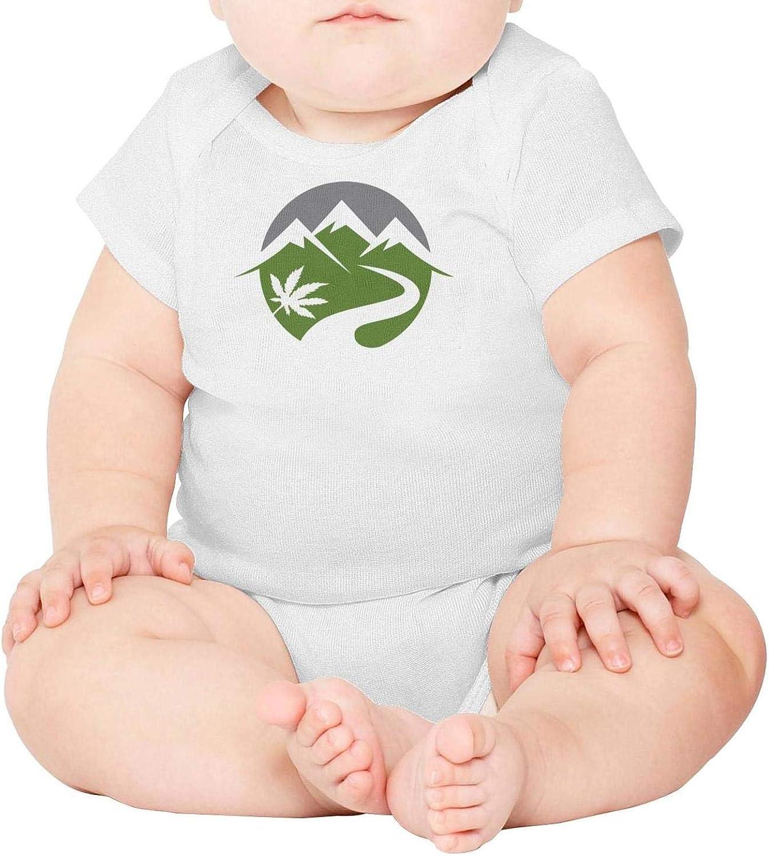 Baby Onesies Colorado Cannabis Tree 100/% Cotton Bodysuits Cute Short Sleeve Bodysuit