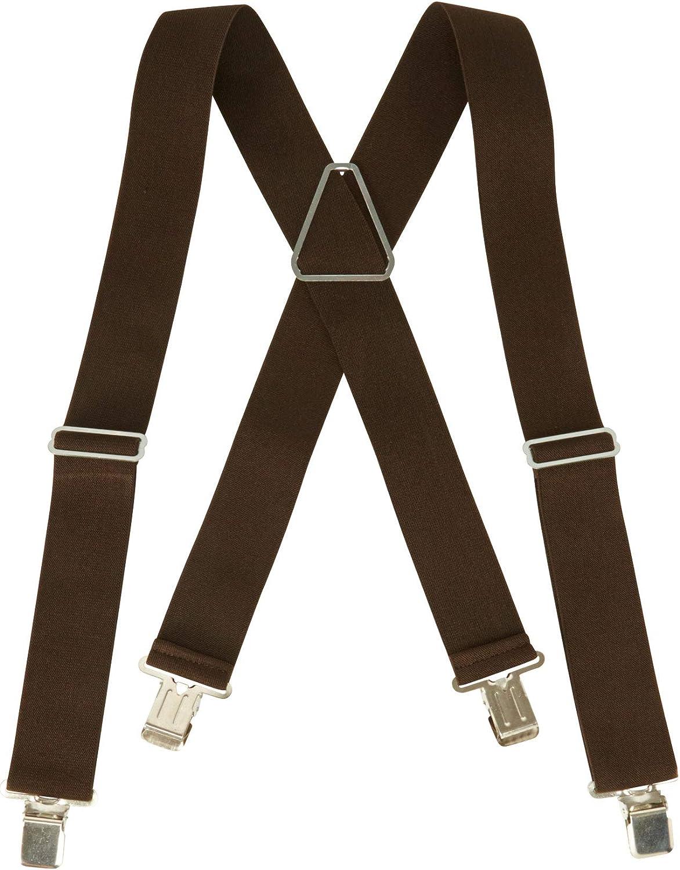 KingSize Mens Big /& Tall Heavy Duty Suspenders