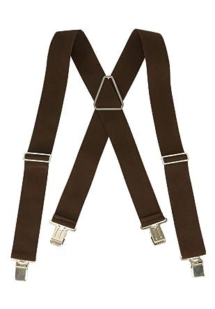 db9852671d8 Kingsize Men s Big   Tall Elastic Work Suspenders at Amazon Men s Clothing  store