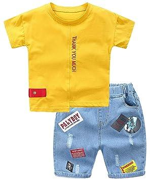 ce270ac796cf53 キッズ 子供服 半袖tシャツ ショートパンツ カジュアル 2点セット ベビー服セット 男の子 女の子