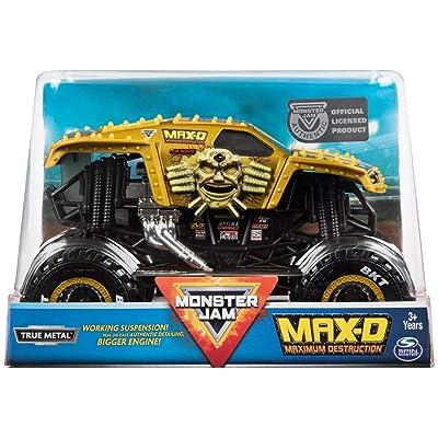 MJ Monster Jam Big Engine MAX-D 1:24: Toys & Games