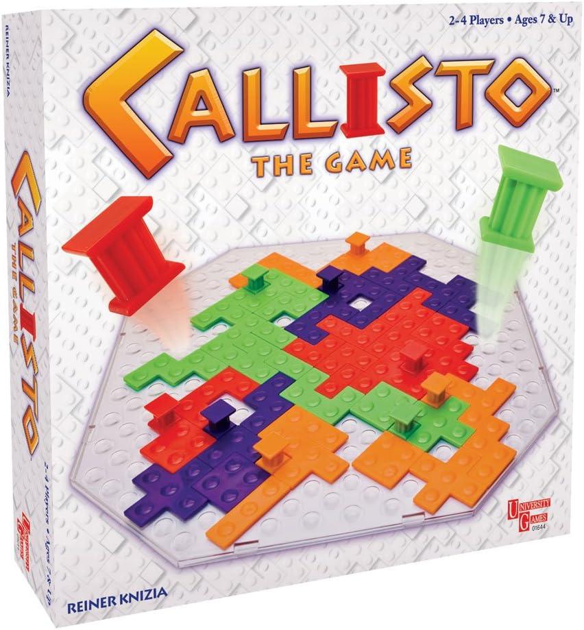 University Games Callisto - Juego de Estrategia: Amazon.es: Juguetes y juegos