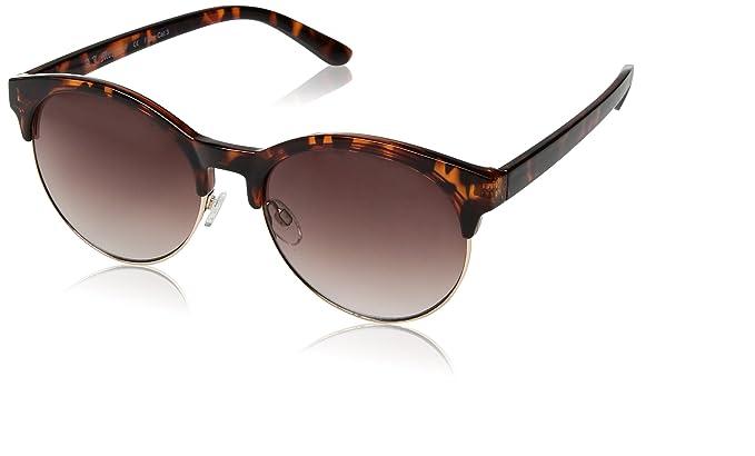 2a7afee1f16 Amazon.com  A.J. Morgan Deborah Oval Sunglasses Tortoise 62 mm  Clothing