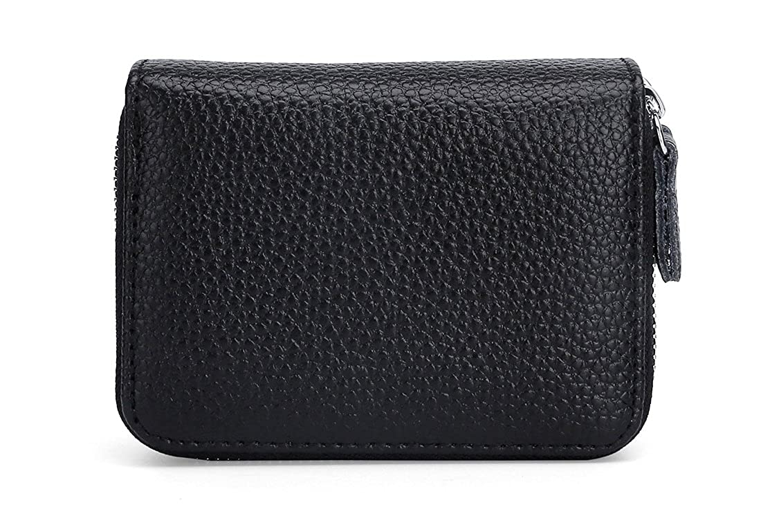 Amazon.com: Billetera pequeña con bloqueo RFID para tarjetas ...
