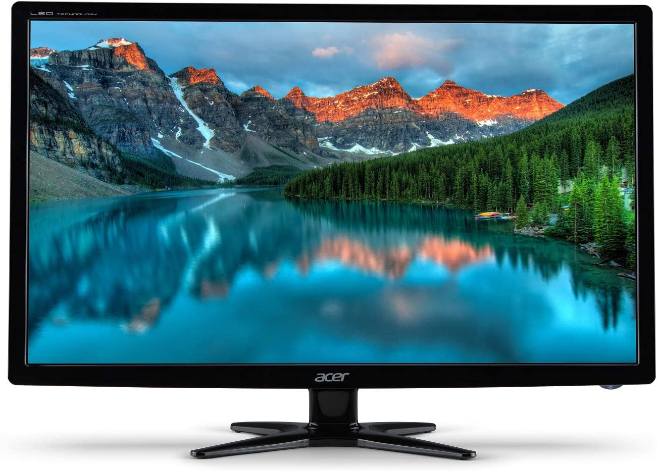 Acer G246HL Abd 24-Inch Screen LED-Lit Monitor,Black