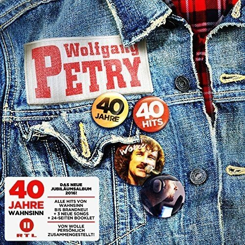 Wolfgang Petry - 40 Jahre 40 Hits - Zortam Music