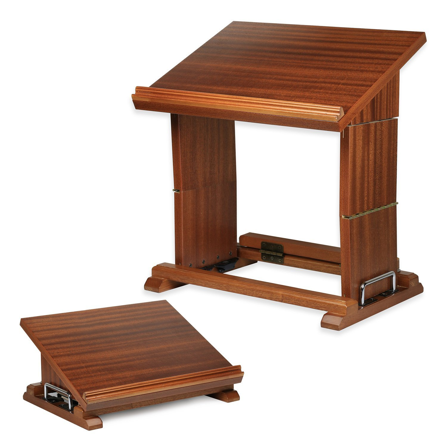 Adjustable & Portable Reading Book Stand - Document Holder Shtender For Sitting and Standing position by Best Woodwork