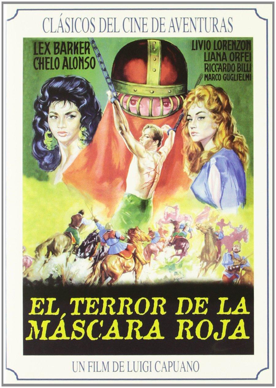 Amazon.com: EL TERROR DE LA MASCARA ROJA : PELICULA[DVD Non-USA Format, Pal Region 2 import]: Movies & TV
