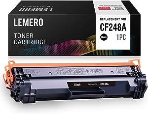 LEMERO Compatible Toner Cartridge Replacement for HP 48A CF248A for Laserjet Pro MFP M29 M29w M29a M28w M28a Laserjet Pro M15 M15w M15a M16a M16w (Black, 1-Pack)