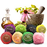 Amazon Price History for:Zarwiiz Bath Bombs Gift Set - Hand Made Natural Organic Lush Bomb With Shea Butter Cocoa & Essential Oils Spa Like Fizzies (Pack of 8)