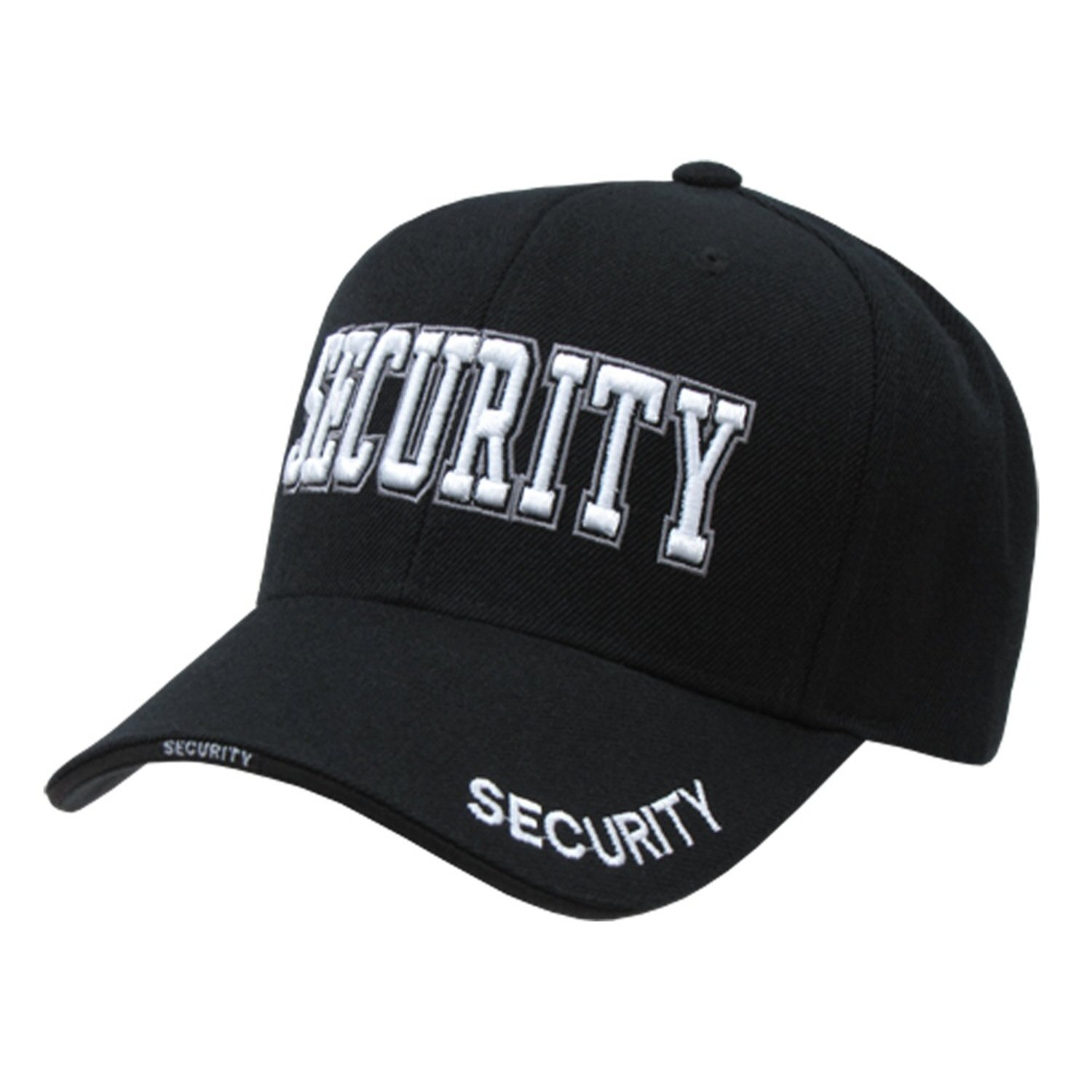 High Embroidered Law Enforcement Baseball Caps Hats (Adjustable , SECURITY)