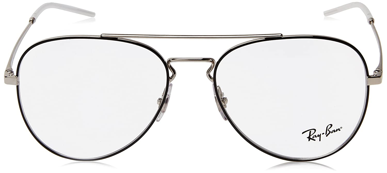 amazon eyeglasses ray ban optical rx 6413 2983 silver top black Ray-Ban Aviator Sizes amazon eyeglasses ray ban optical rx 6413 2983 silver top black clothing