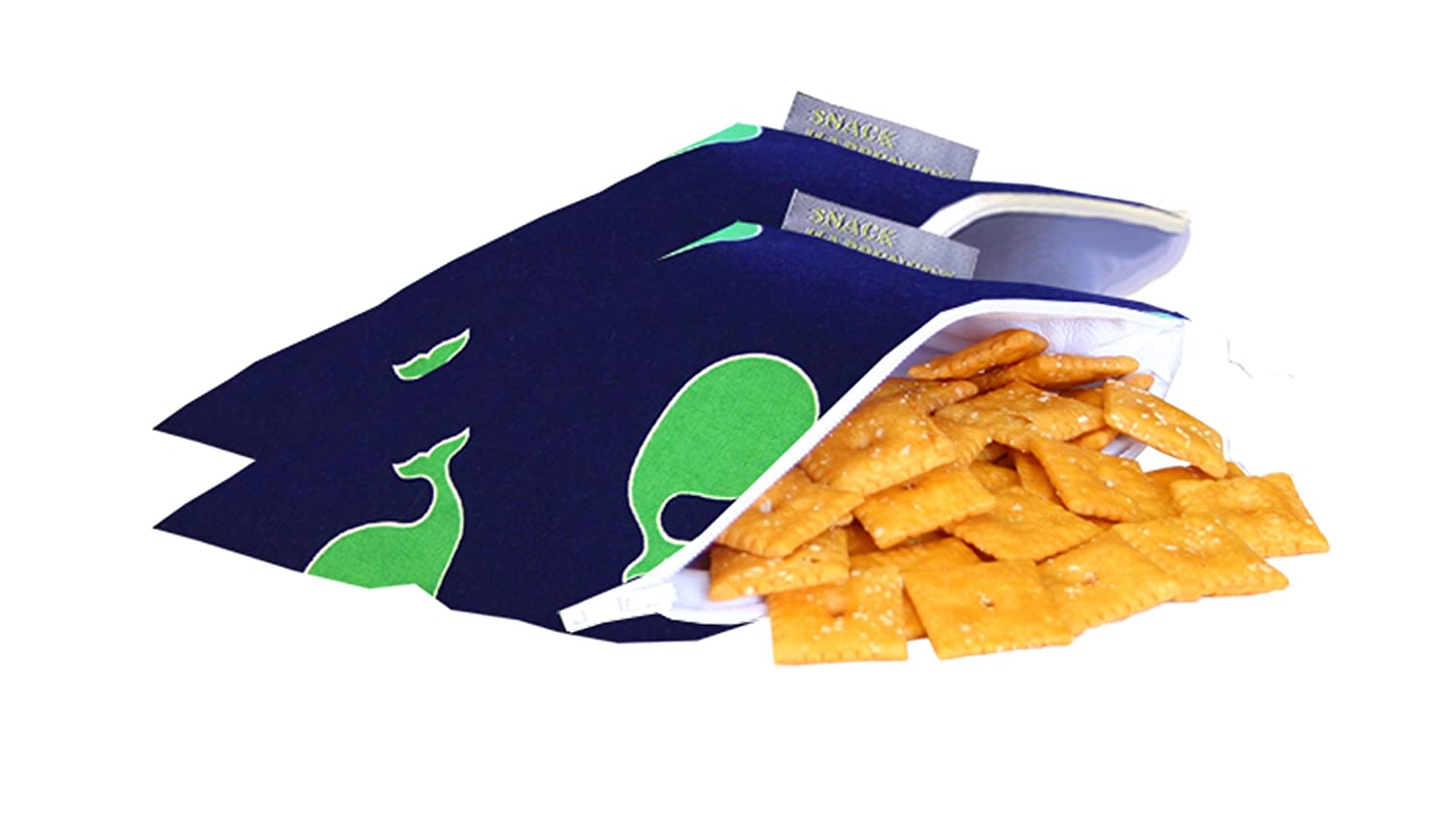 Llama Glama Itzy Ritzy IR-MSWB8311 Snack Happens Mini Reusable Snack and Everything Bag