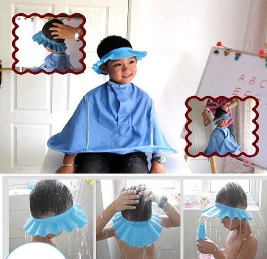 Safe Shampoo Shower Bathing Protection Soft Cap Hat for Toddler\'s ...