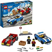LEGO City Police 60242 Police Highway Arrest Building Kit (185 Pieces)