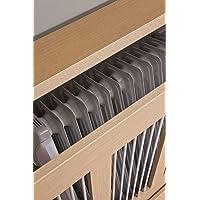 TOP KIT Intradisa 3121 - Cubre radiador, Roble