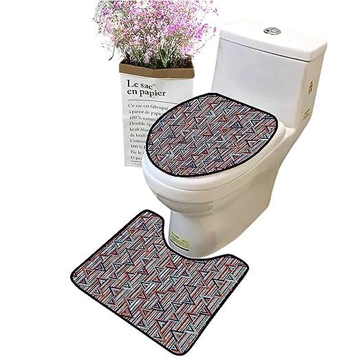Juego de 2 Piezas de alfombras de baño con diseño de Vector con ...