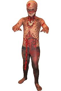 Jeff la Killer Kids Monster disfraz de MORPHSUIT – Tamaño Mediano ...