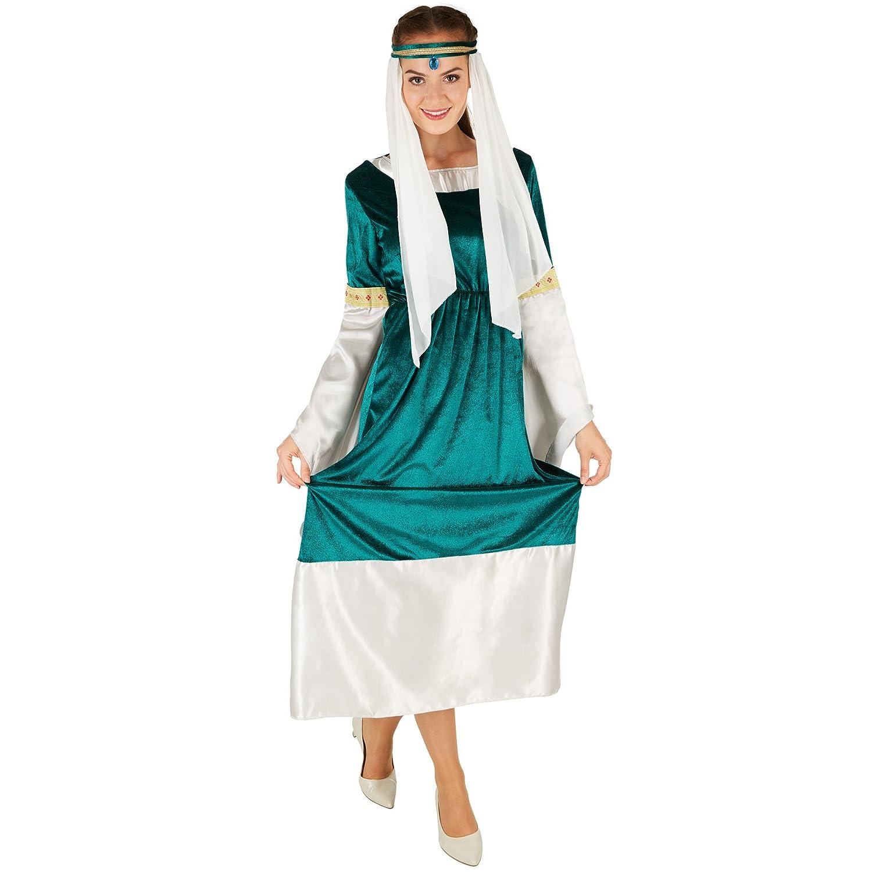 dressforfun Disfraz de Princesa Elfo para Mujer | Encantador ...