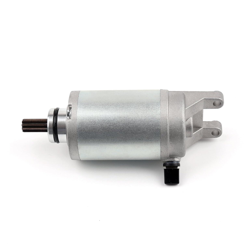 Artudatech Motore de Arranque 12V Electrico Motor Arranque Moto Motores de Arranque Starter Motor para SUZU-KI AN250//400 Burgman UH200 UH125 UH150 Burgman