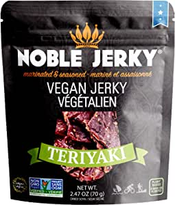 NOBLE JERKY Vegan Jerky Teriyaki, 1 x 70 g