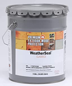 Continental Weatherseal Stain Cabin Brown