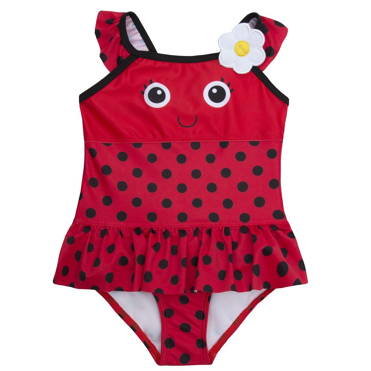 BABY TOWN Babytown Baby Girls Novelty Swimming Costume