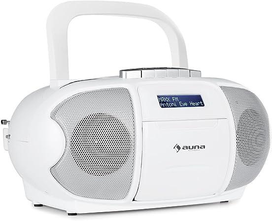 Auna Beeberry Dab Boombox Cd Radio Kassettenplayer Elektronik